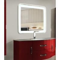 Зеркало для ванной с LED подсветкой Мила 120х90 см